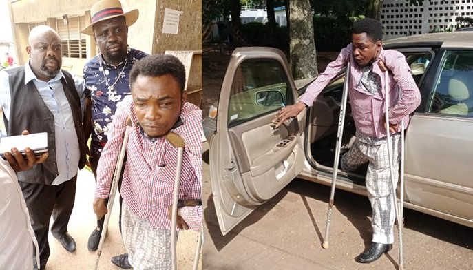 """Edo youth leader allegedly assaults physically challenged man for addressing him by his name instead of """"Chairman"""""""