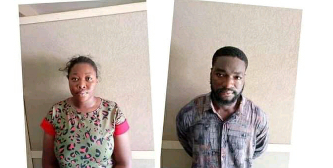 NDLEA ARRESTS UNDERGRADUATE AND HER BOYFRIEND FOR SELLING DRUG LACED COOKIES TO SCHOOL CHILDREN IN ABUJA