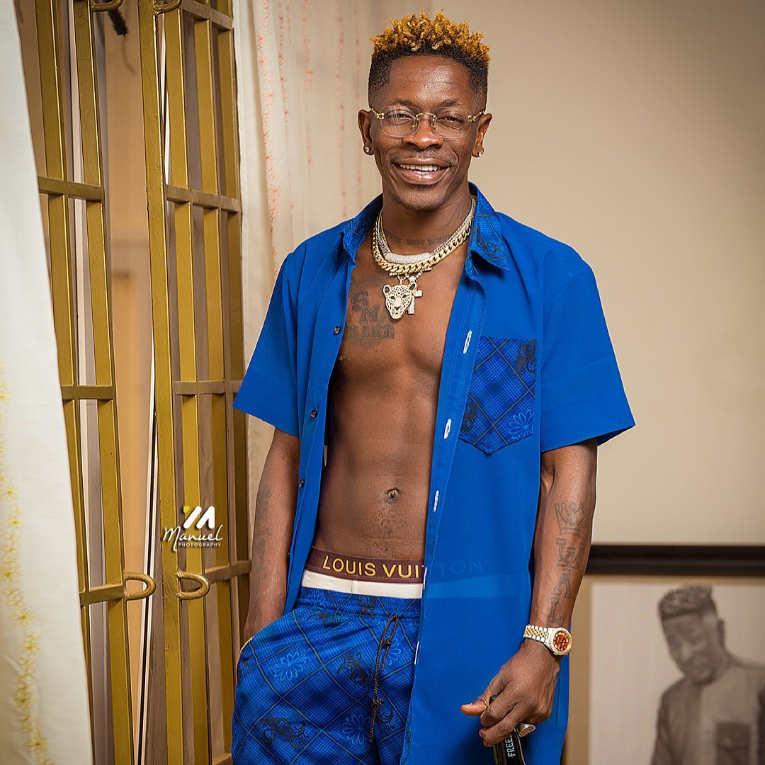"Shatta Wale says ""Gift Of God (GOG)"" will be His Retirement Album"