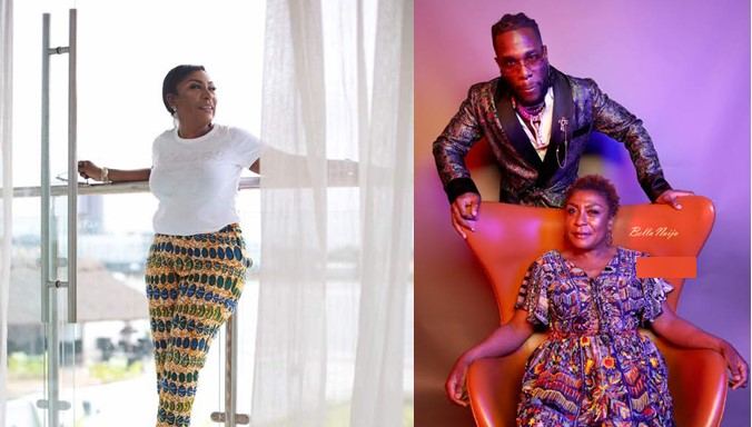 Burna Boy's mum named one of the International Power Players by Billboard