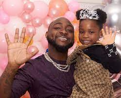 Davido and Imade, brand ambassador for baby soap