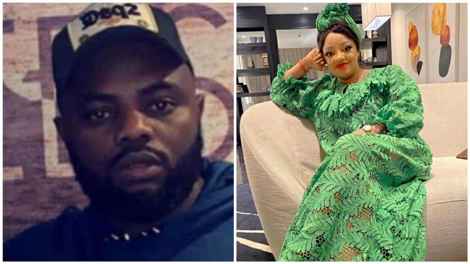 Nollywood actress, Sotayogaga's husband