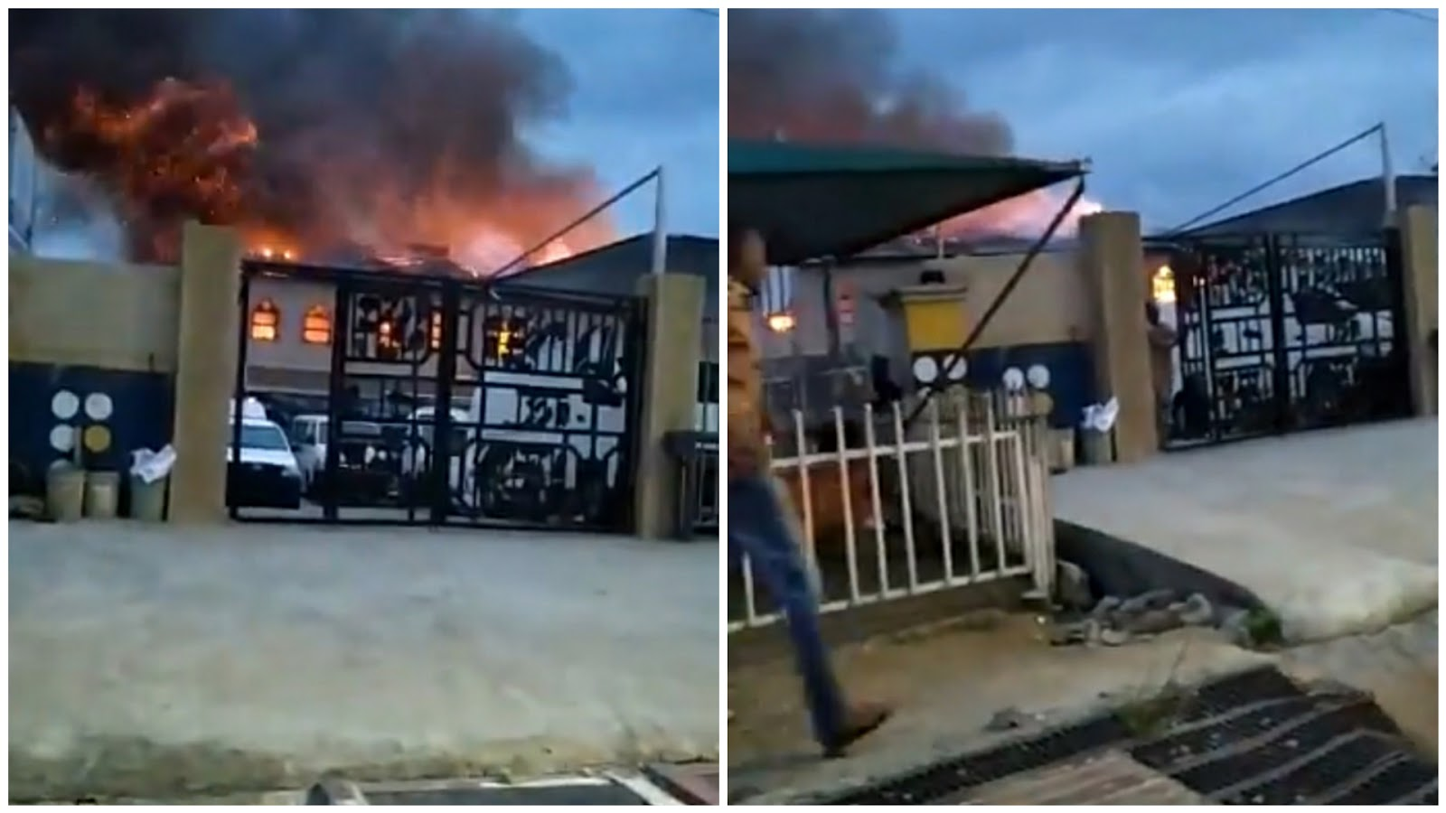 RCCG church burns